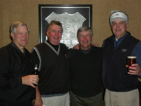 3-12-13 Winning Team: Craig Sellner, Danny Morris, Ron Majors, Kevin McGlynn