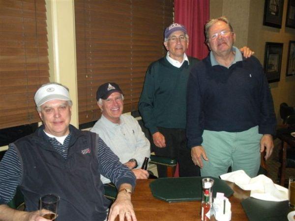 3-19-13 Winning Team: Kevin McGlynn, John Wymer, Jeff Kohn, Tom Player