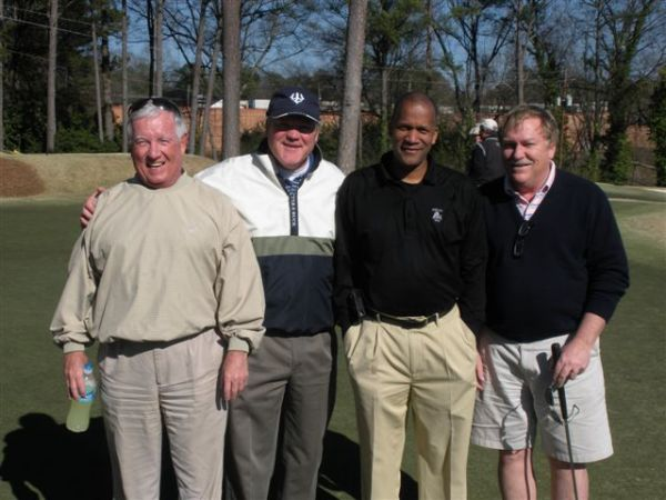 3-12-13 First Group Off The Tee: Marty Arnold, Tim Martin, William Thornton, Tom Kisgen