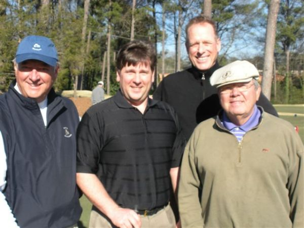 3-12-13 Fourth Group: Mike Gaddis, PJ Wade, Scotty Greene, Tom Player