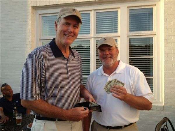 Low Net Chip Off Contestants Doug Healy and Tim Martin (guess who won)