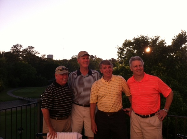 5-14-2013 Winning Team: Marty Arnold, Doug Healy, Jim Williamson, Mike Schmal