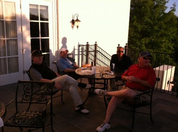 5-7-2013 Tom Kisgen, David Danzig (pink lady), William Thornton, Marty Arnold