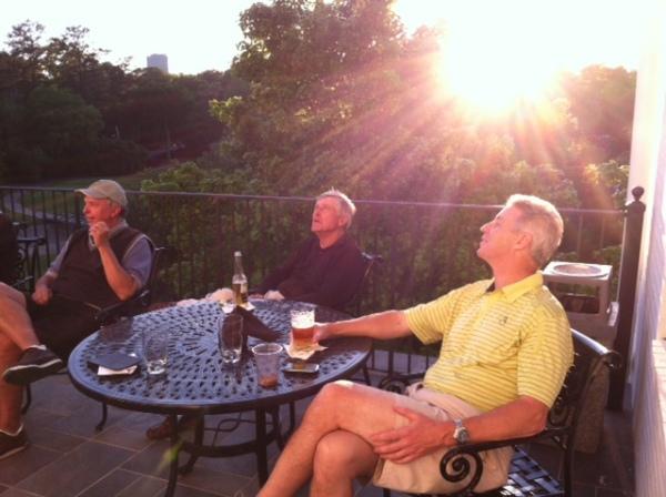 5-7-2013 Danny Morris, Ron Majors, Mike Schmal