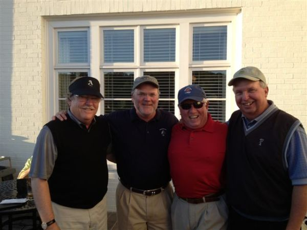 5-7-2013 Winning Team: Tom Kisgen, Tim Martin, Marty Arnold, Danny Morris