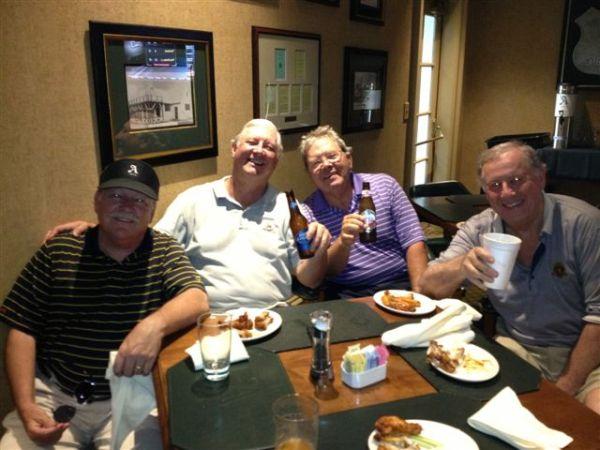 6-11-2013 Winning Team: Tom Kisgen, Mike Gaddis, Tom Player, Jeff Colbath