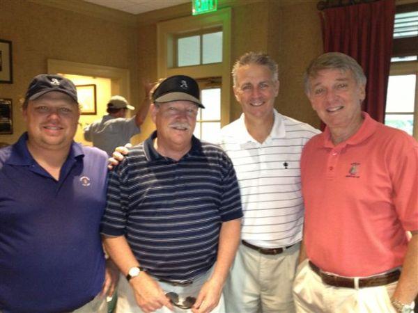 Winning Team-6-4-2013: Anthony Morgan, Tom Kisgen, Mike Schmal, Jim Williamson