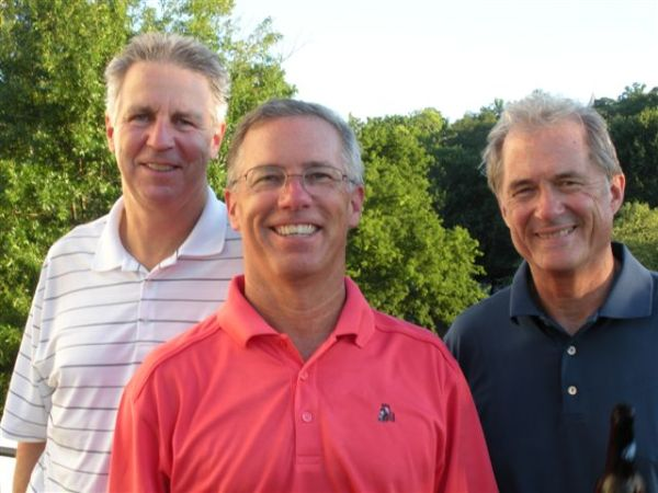 7-16-2013 Winning Team: Mike Schmal, Doug Gooding, Russ Jobson (not pictured David Danzig who left early)