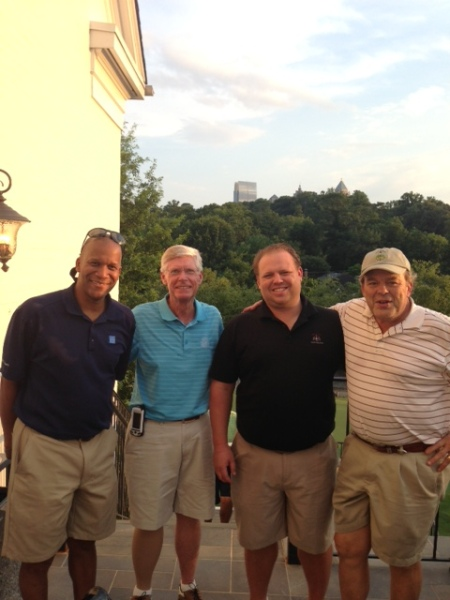 7-2-2013 Winning Team: William Thornton, Bill Buist, Anthony Morgan, Henry Sawyer  -10  Back Nine