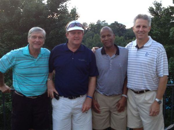 8-20-2013 Winning Team: Ron Majors, Bill Meagher, William Thornton, Mike Schmal