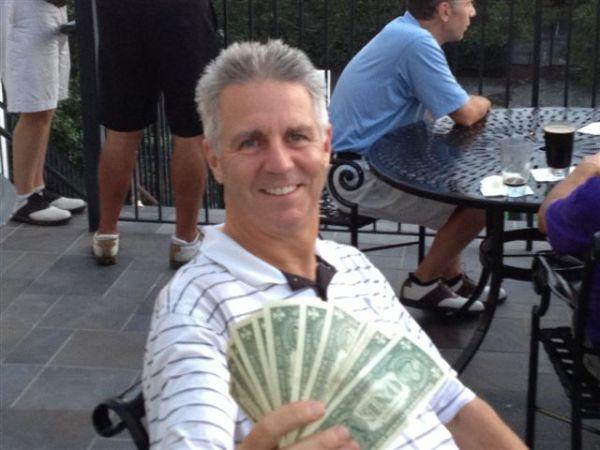 8-20-2013 Low Net Winner Mike Schmal