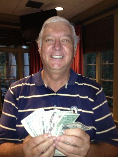 7-23-2013 Low Net Winner Mike Gaddis