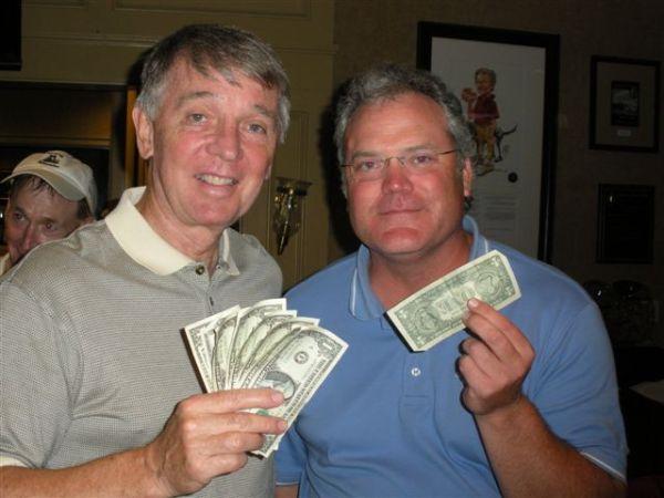8-6-2013 Low Net Winners Jim Williamson and Tim Martin