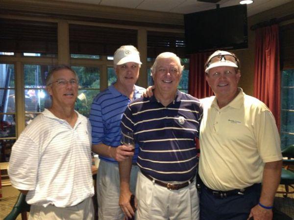 7-23-2013 Winning Team: Doug Gooding, Kevin McGlynn, Mike Gaddis, Bill Meagher