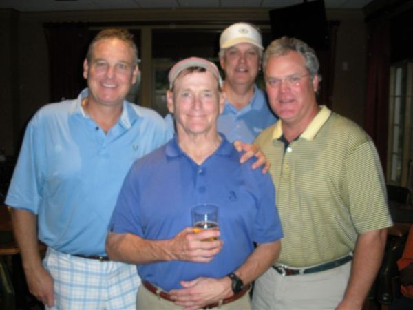 7-30-2013 Winning Team: Tom Houle, Don Nichols, Kevin McGlynn, Tim Martin