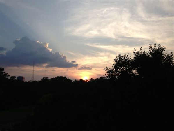 8-27-2013 View of the Sunset from the ATAG Porch
