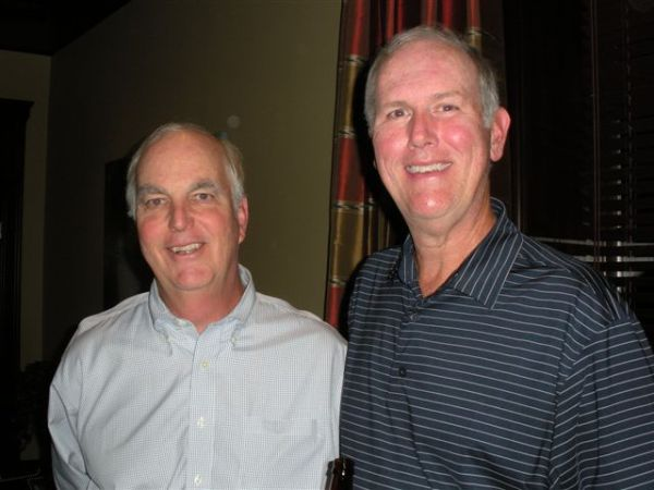 10-22-2013 End of Year Party: High Gross and High Net Winners: Frank Corrigan and Doug Healy