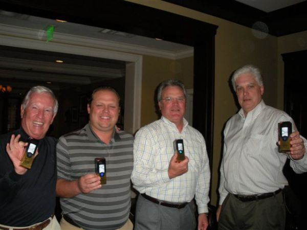 10-22-2013 End of Year Party: Best Team Score on the Back Nine (-12) Marty Arnold, Anthony Morgan, Tim Martin, Kevin McGlynn