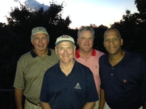 10-1-2013 Winning Team: Danny Morris, Don Nichols, Tim Martin, William Thornton