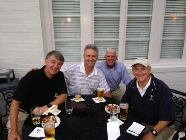 10-8-2013 Winning Team: Jim Williamson, Mike Schmal, John Wymer, Don Nichols