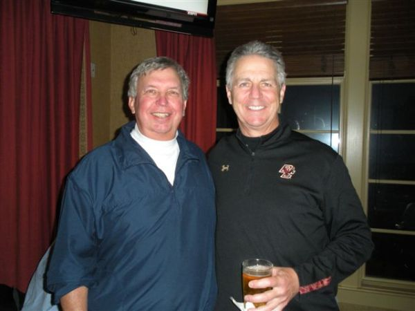 3-18-2014  Low Net Co Winners Danny Morris and Mike Schmal (Schmal also wins Low Gross)