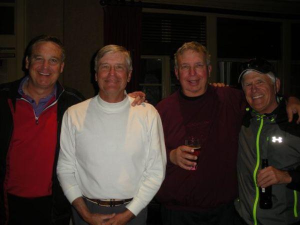 3-25-14 Winning Team: Tom Houle, Ron Majors, Danny Morris, John Wymer