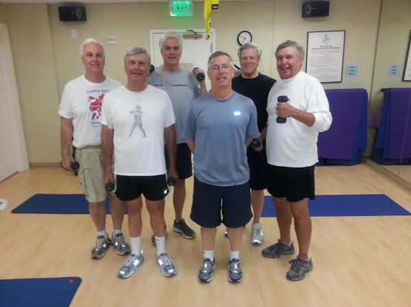 "ATAG ""Pilatos""  Front: Ron Majors, Doug Gooding, Danny Morris; Back: Frank Corrigan, Kevin McGlynn, Craig Sellner"