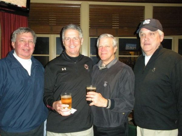 3-18-2014  Winning Team: Danny Morris, Mike Schmal, Craig Sellner, and a frightened Kevin McGlynn