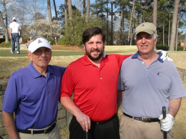 3-11-2014 DAL team of Jeff Kohn, PJ Wade, and Frank Corrigan (not pictured: draw partner Marty Arnold)