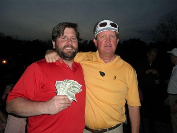 3-11-2014 Low Net Winner PJ Wade and Low Gross Winner Bill Meagher
