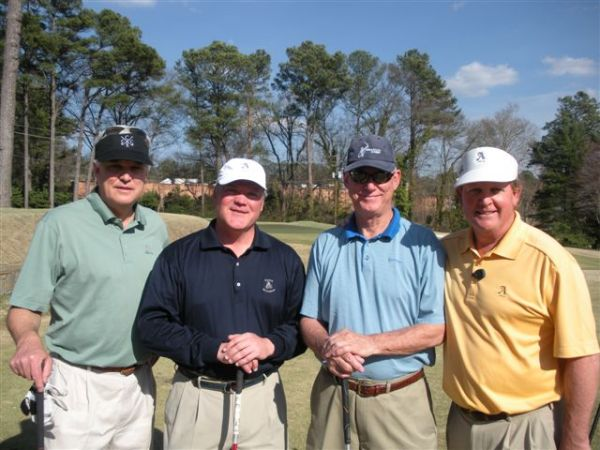 3-11-2014 Second Team Off The Tee: Kevin McGlynn, Tim Martin, Al Roberds, Bill Meagher