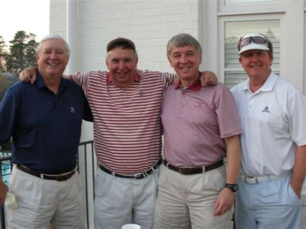 4-1-2014 Winning Team: Mike Gaddis, Danny Morris, Jim Williamson, Bill Meagher