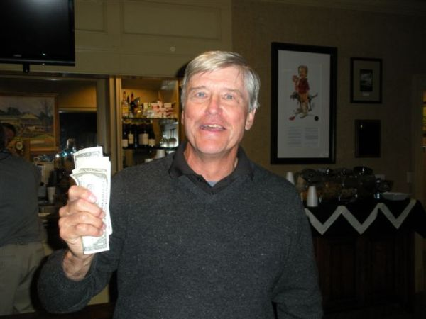 4-8-2014: Chip Off Low Net Winner Ron Majors