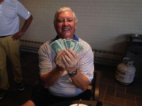 4-22-14 Low Net Winner Mike Gaddis