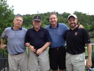4-29-14 Winning Team: Doug Gooding, Tom Kisgen, Tom Houle, David Danzig