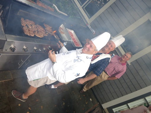 6-24-14 Steak Night: Co Chefs Craig Sellner and Jeff Colbath along with Tim Martin