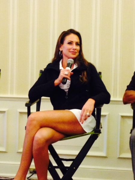 6-24-14 Steak Night: Holly Sonders of the Golf Channel responds to ATAGers questions