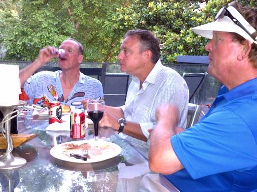 6-24-14 Steak Night: Scotty Greene, Tom Houle, Bill Meagher