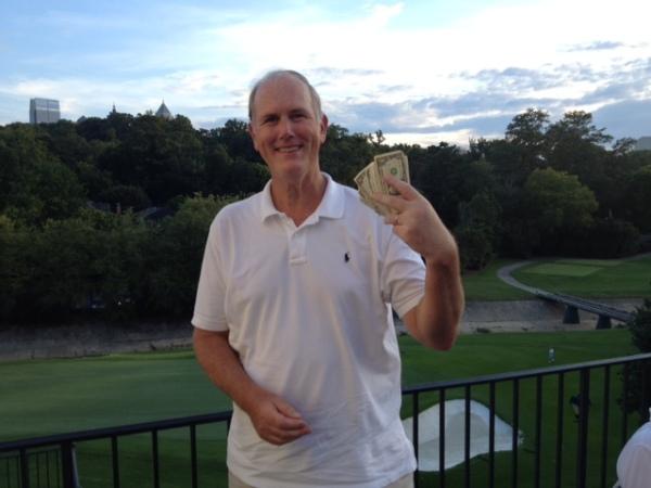 7-22-14 Low Net Winner Doug Healy