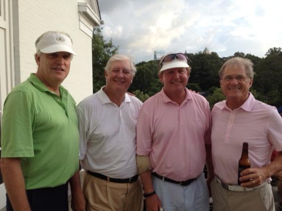 7-15-14 Winning Team: Kevin McGlynn, Mike Gaddis, Bill Meagher, Russ Jobson