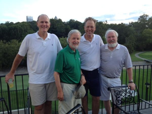 7-22-14 Winning Team: Doug Healy, Kieran Quinn, Scotty Greene, Ed McCormick