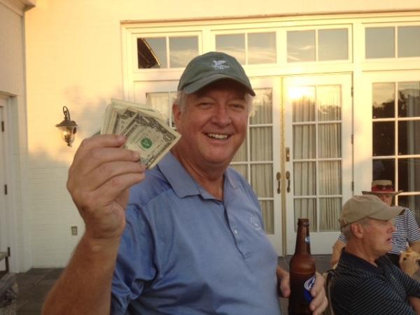 8-12-14 Low Net Winner Mike Gaddis
