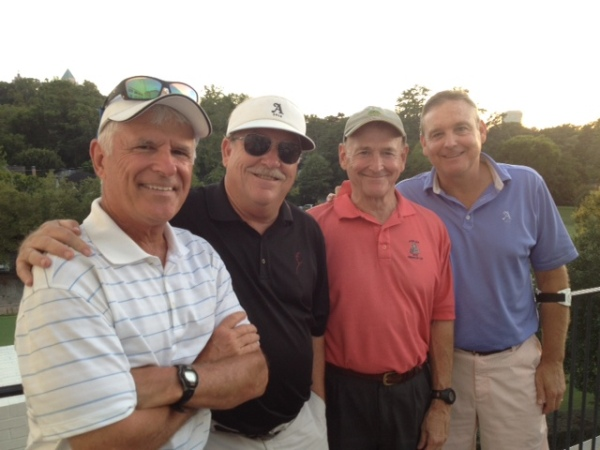 8-26-14 Winning Team: John Wymer, Tom Kisgen, Don Nichols, Tom Houle