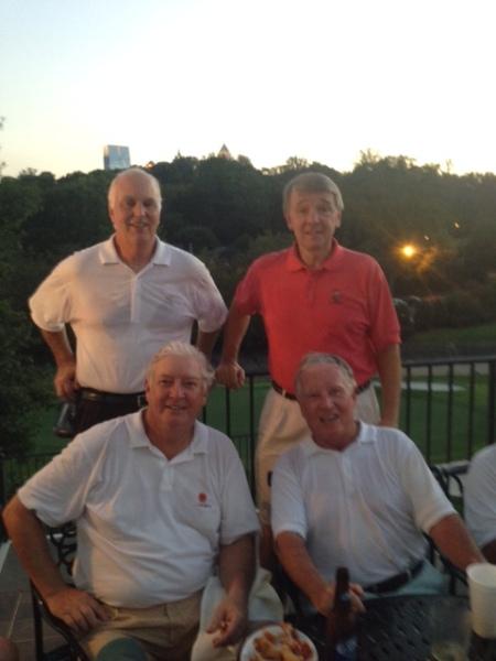 9-16-14 Winning Team: Frank Corrigan, Jim Williamson, Mike Gaddis, Marty Arnold