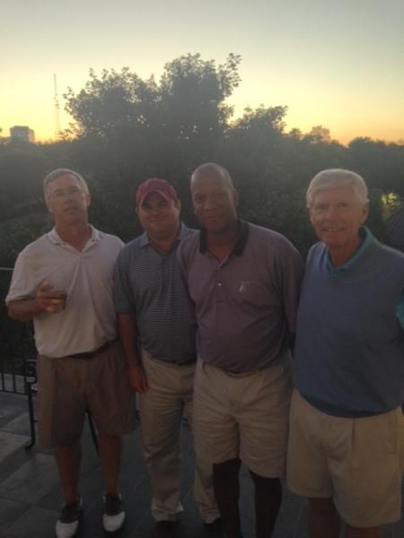 9-23-14 Winning Team: Doug Gooding, Todd Jefferies, William Thornton, Bill Buist