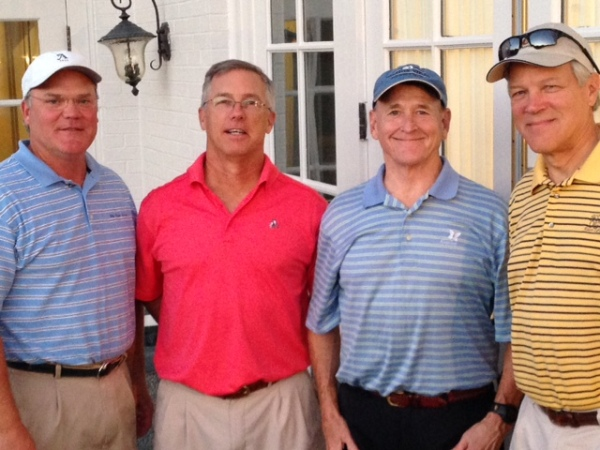10-7-14 Winning Commissioner's Team: Tim Martin, Doug Gooding, Don Nichols, Craig Sellner