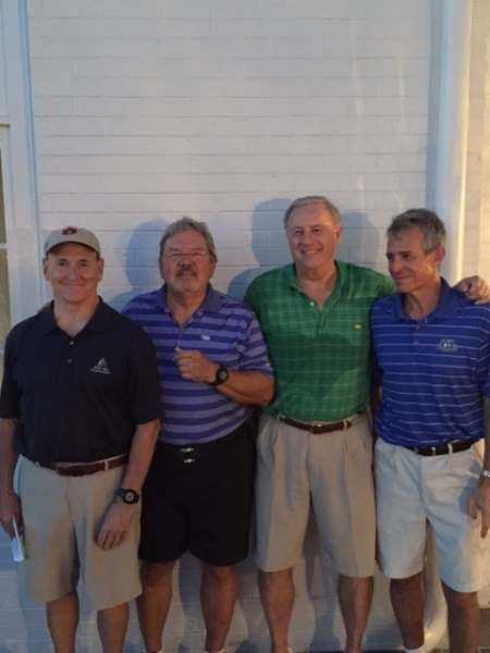 9-30-13 Winning Commissioner's Team:  Don Nichols, Tom Player, Jeff Colbath, Brooks Cowles