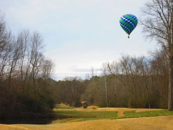 Commissioner Arrives in Hot Air Balloon for Opening Day After Winter Sojourn in the Caribbean