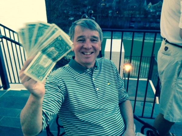 3-17-15 Low Net Winner Jim Williamson