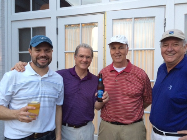 3-31-15 Winning Team: David Danzig, Russ Jobson, Frank Corrigan, Mike Gaddis